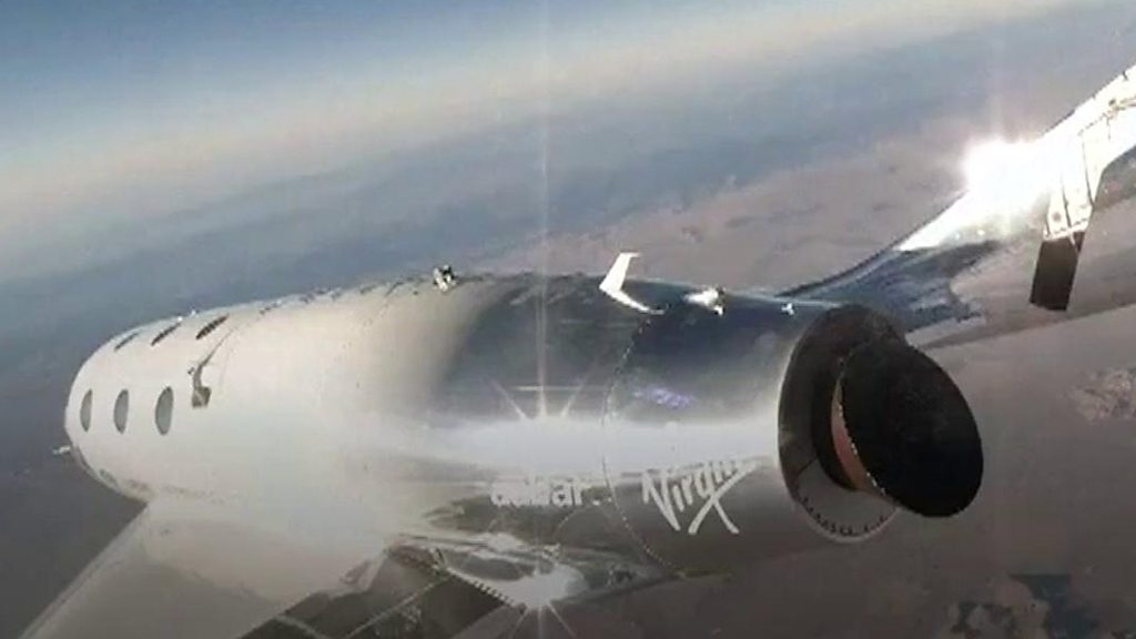 Virgin Galactic's SpaceShipTwo: The view from the edge of space