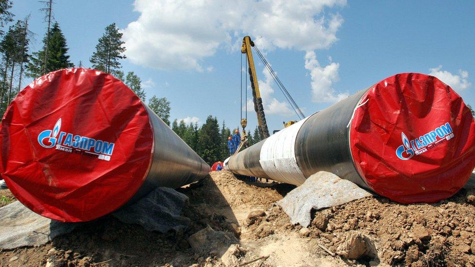 Gazprom boruları