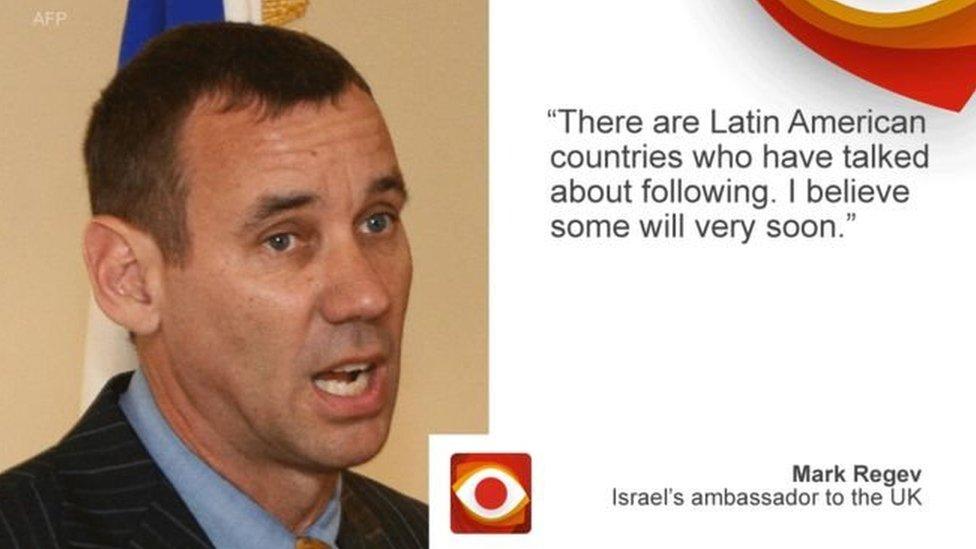 مارك ريغيف السفير الإسرائيلي في لندن