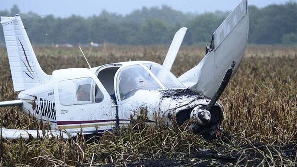 Salford crash pilot who 'claimed to be hero' guilty