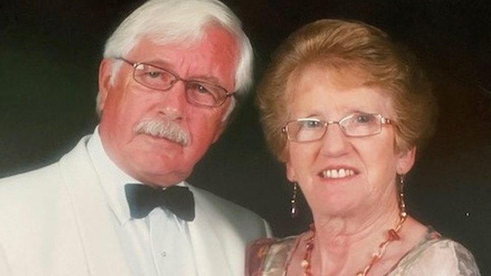 Celia Ward and husband David