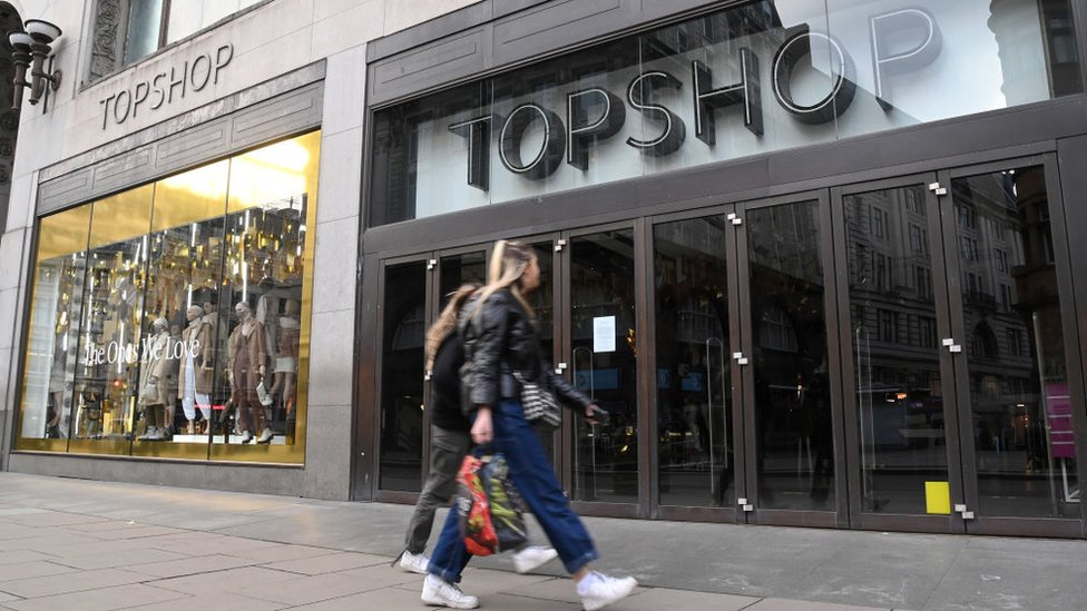 Topshop owner Arcadia goes into administration thumbnail