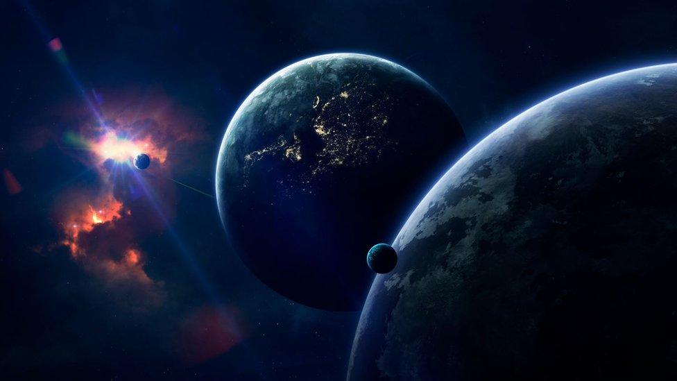 Dibujo de planetas