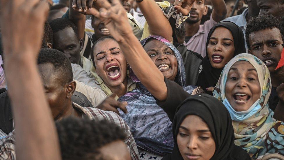 """""""مليونية"""" 25 أبريل في الخرطوم"""