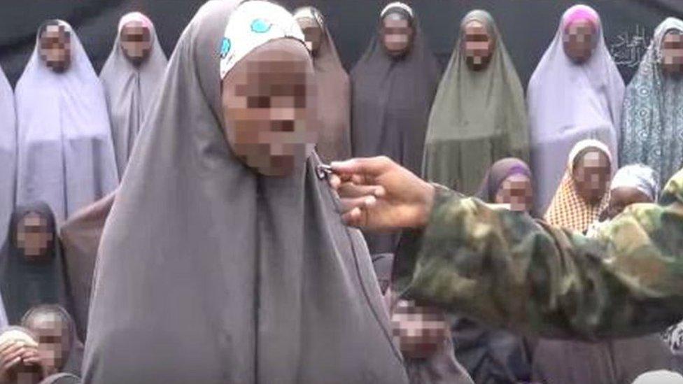 Grab from Boko Haram video