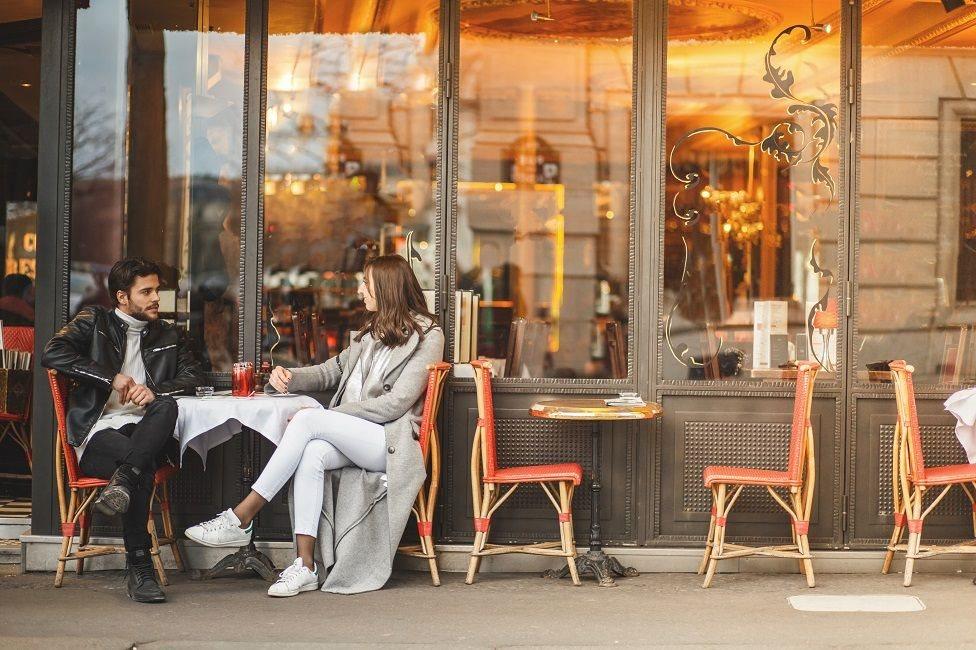 室外咖啡館