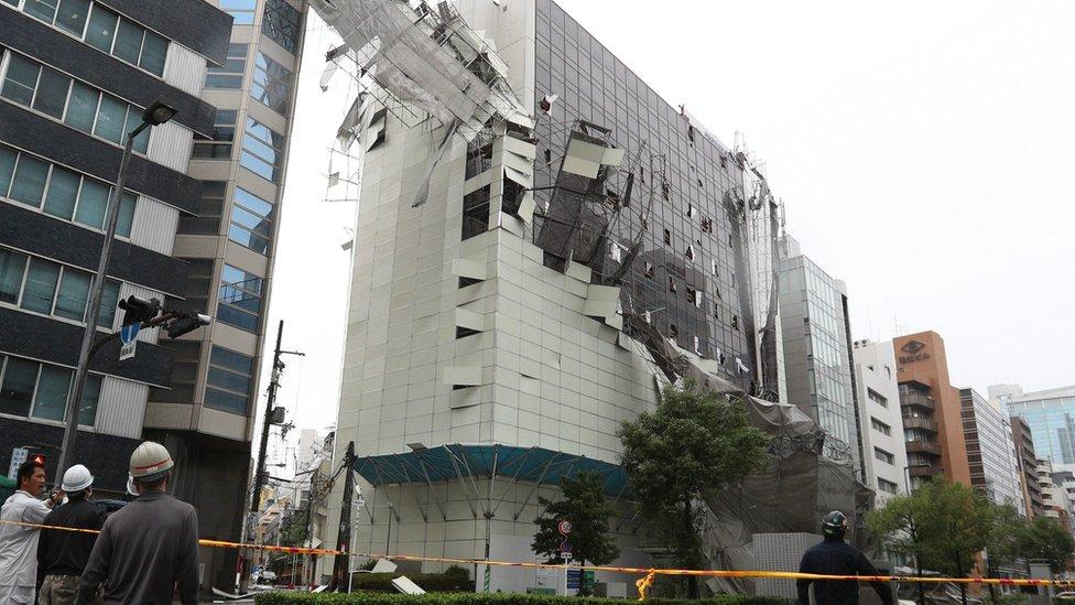 Oplata zgrade je uništena