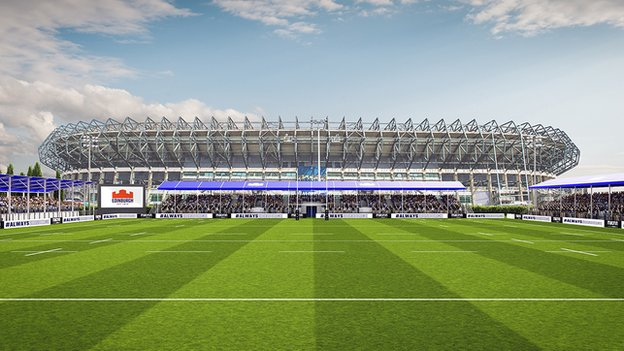 Edinburgh's 'mini Murrayfield' granted permission