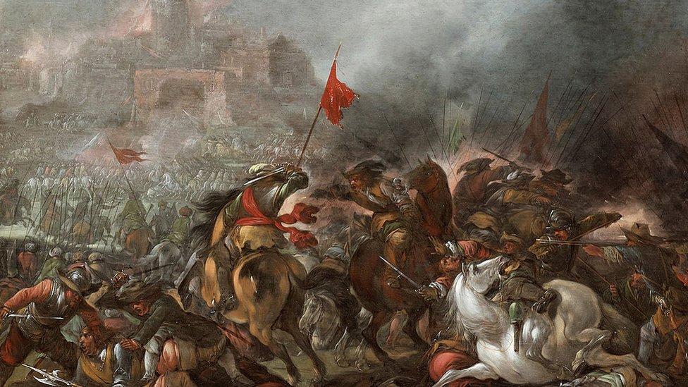 La guerra turca.