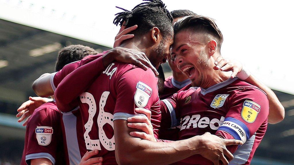 Aston Villa 1-0 Millwall: Jonathan Kodjia earns record-breaking 10th straight win