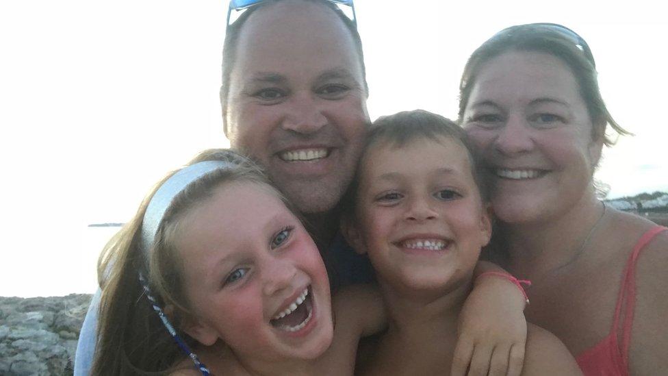 The Visser family