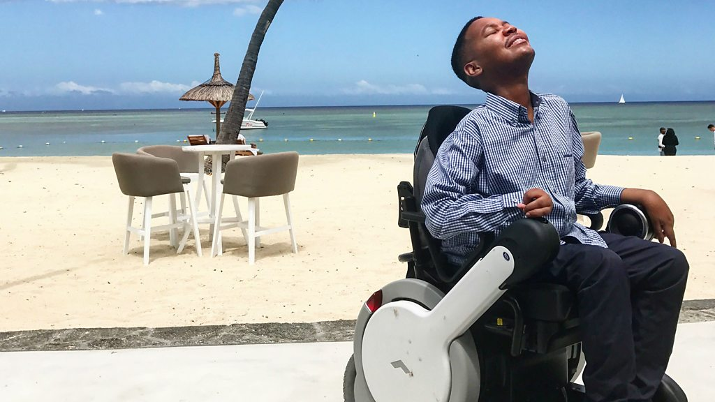 'I want to be the first wheelchair user in space'