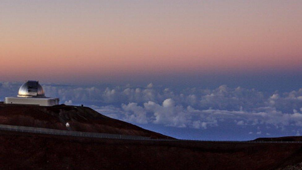 Nasa's Mauna Kea Observatory in Hawaii