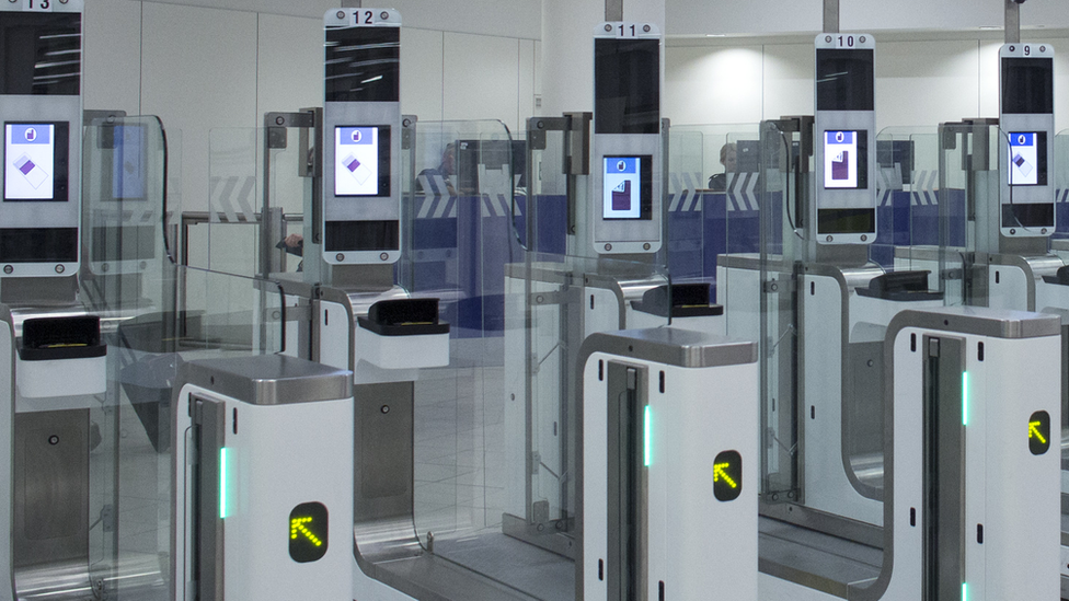 e-passport gates