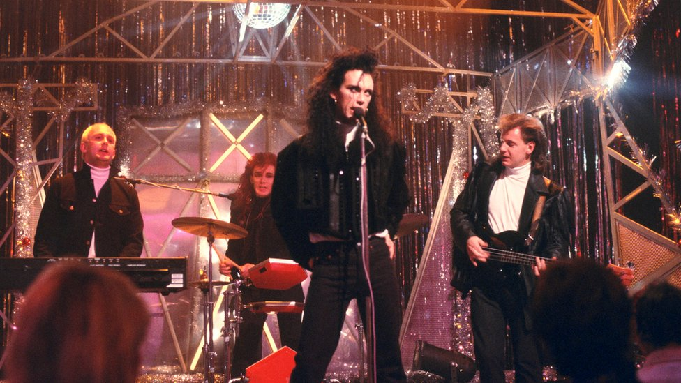 Dead Or Alive on Top of the Pops