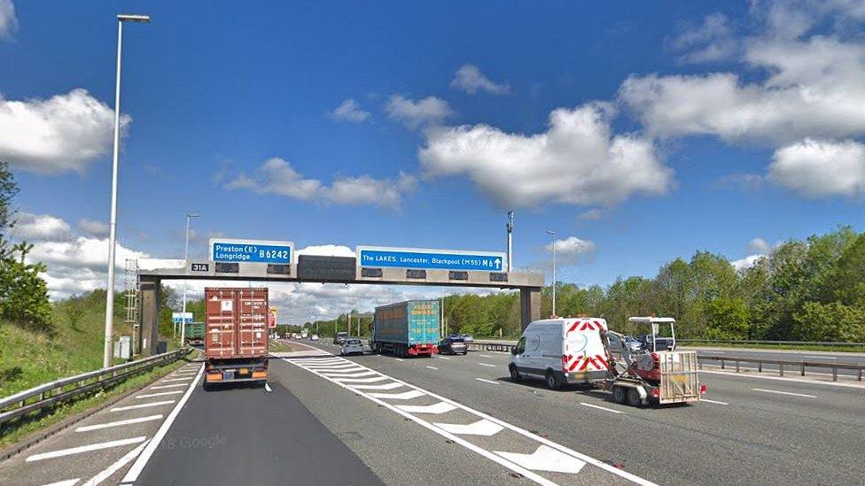 M6 crash deaths: Five arrested after two people killed