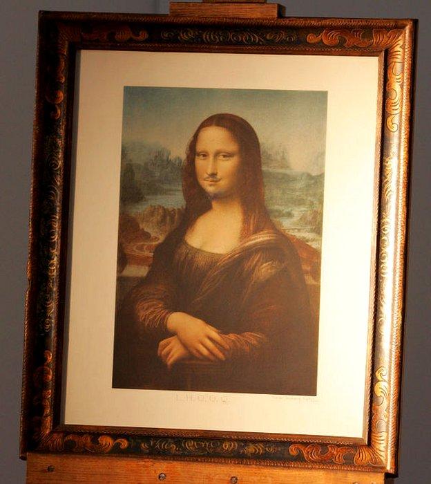 La Mona Lisa de Duchamp