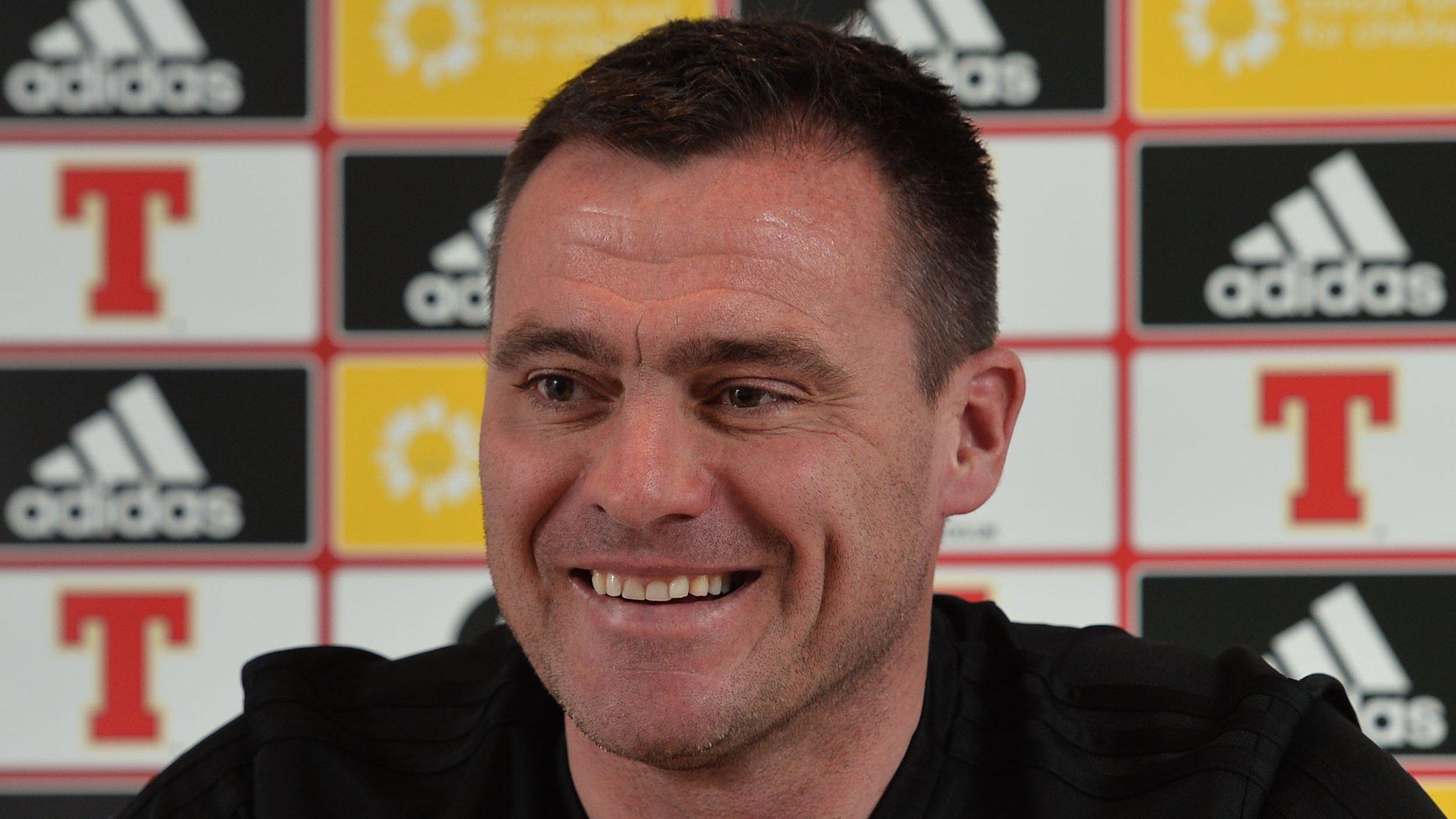 New goalkeeping coach Steve Harper 'really impressed' by NI keepers
