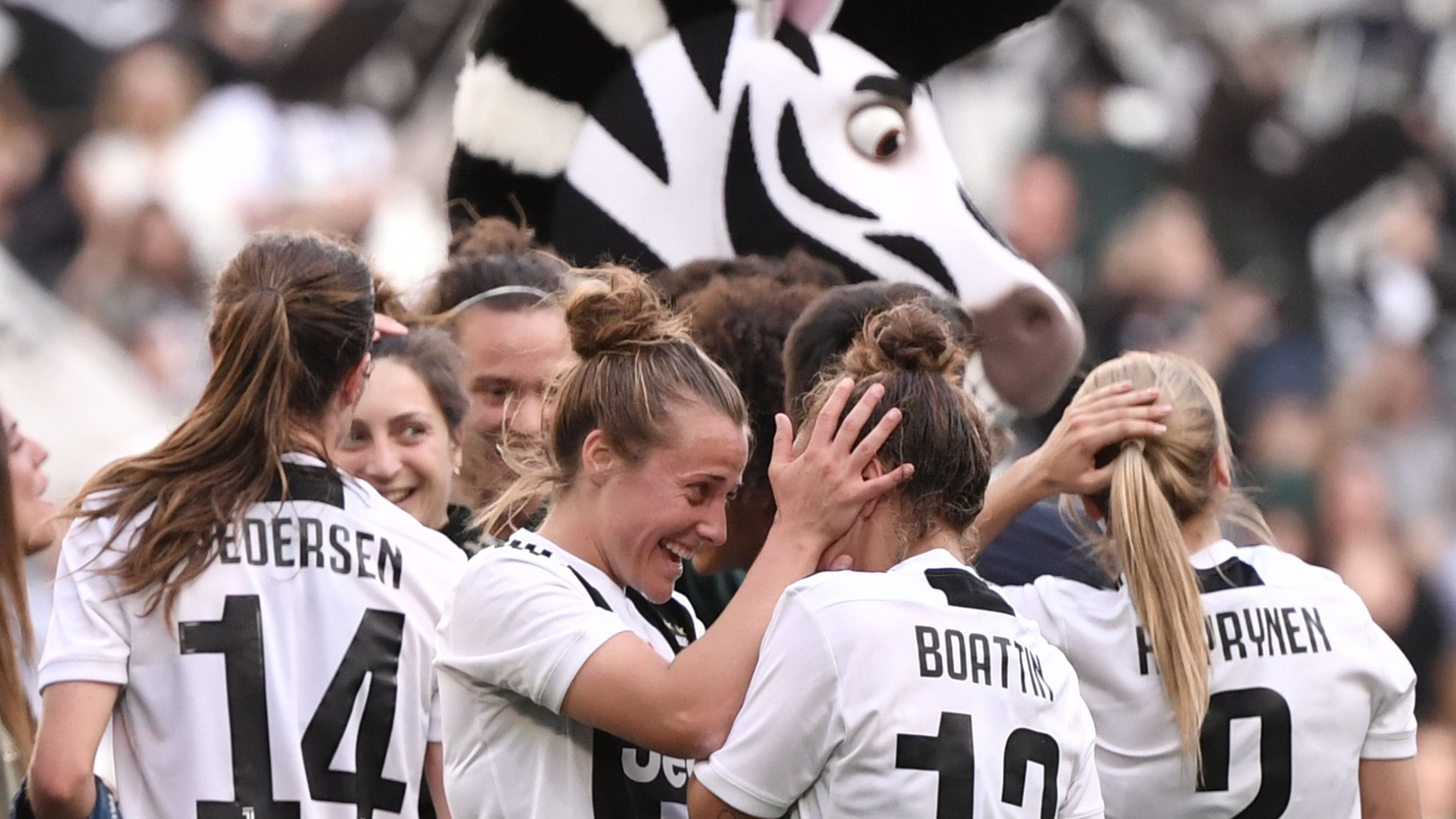 Juventus Women 1-0 Fiorentina: Record crowd of 39,000 watch game at Allianz Stadium