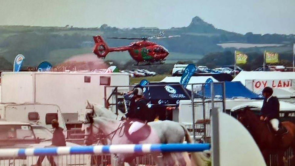 Eight people injured by loose horse at Pembrokeshire Show