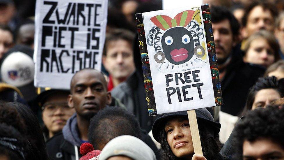 Protestas en Holanda