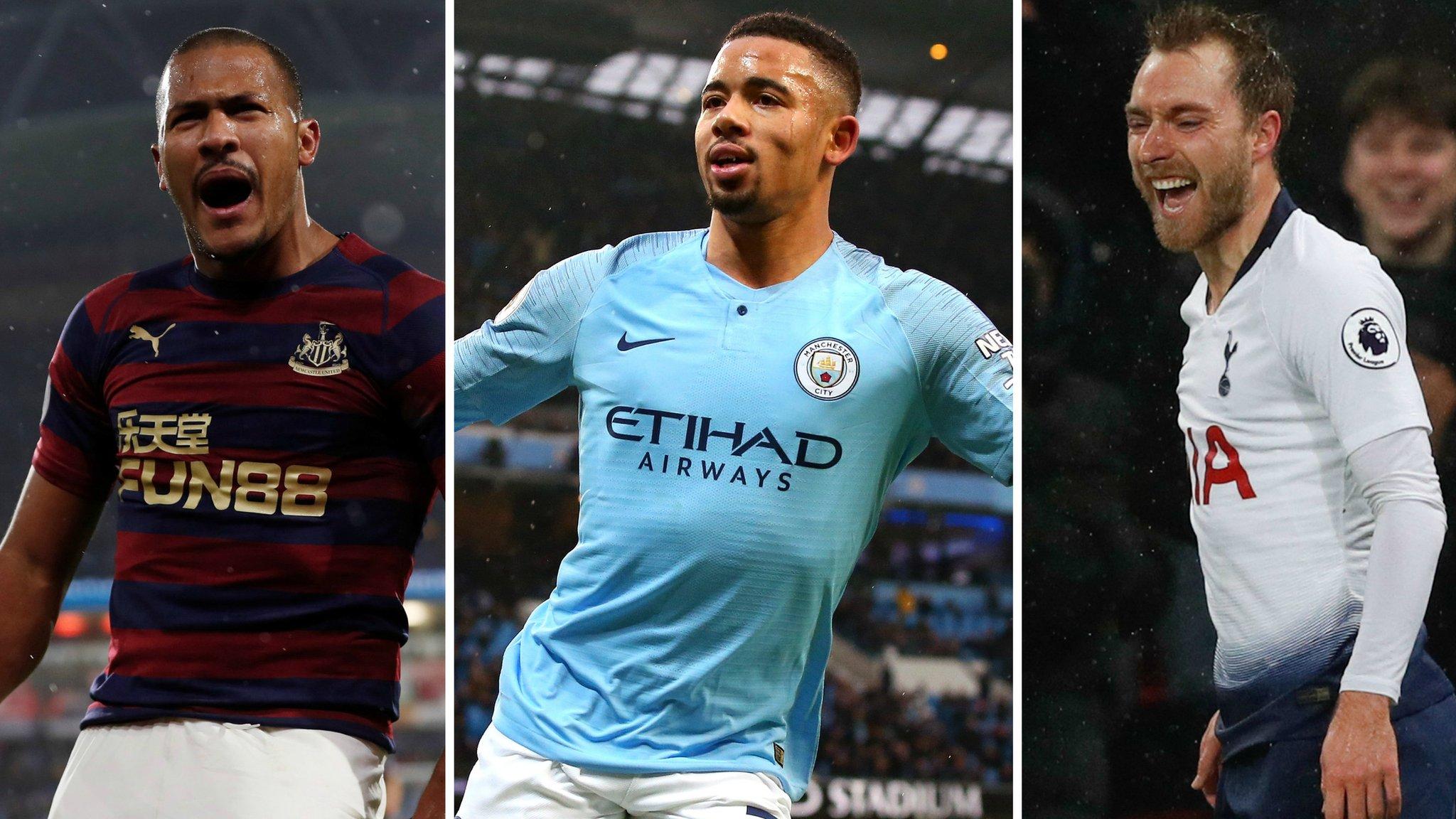 Premier League round-up: Man City go top, Tottenham score late winner