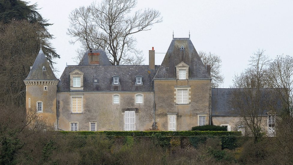 Francois Fillon chateau near Le Mans - file pic