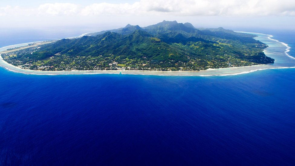 Rarotonga is the largest of the Cook Islands