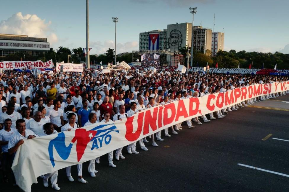 Marcha en Cuba en 2019