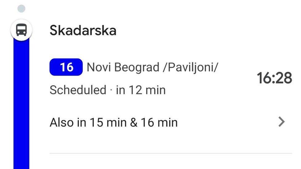 Gugl Tranzit Google Transit I Beograd Sad Se Vidi Koliko Je
