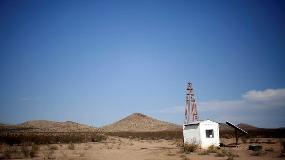 Zona árida en México