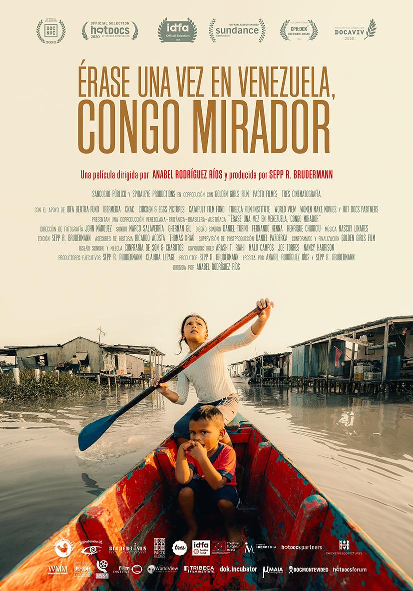 """Cartel del documental """"Érase una vez en Venezuela, Congo Mirador"""""""