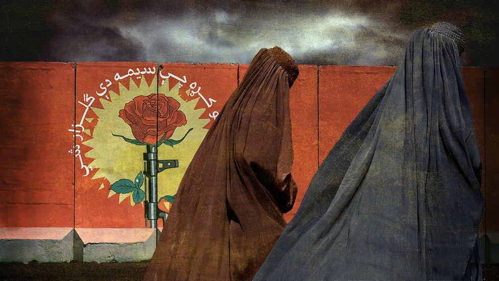 Burkalı kadınlar