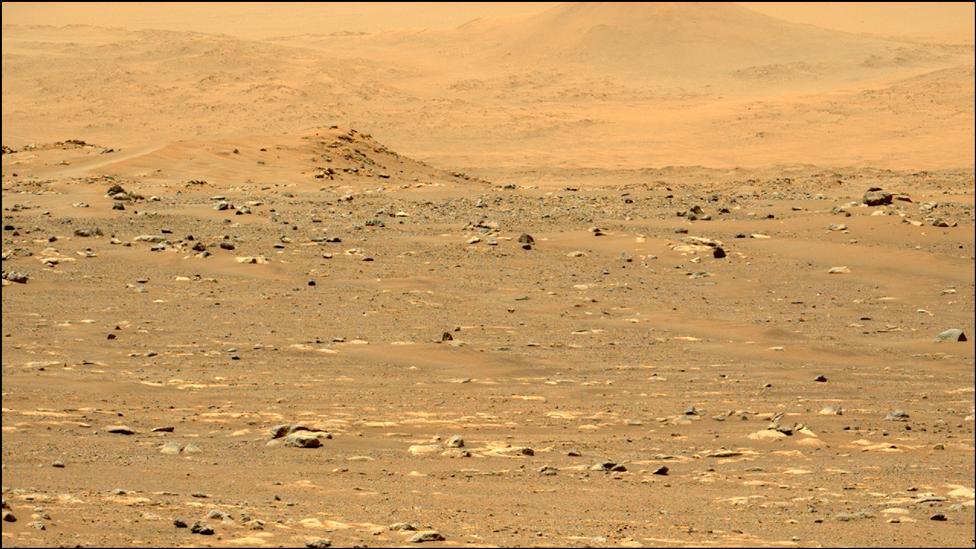 Paisaje de Marte.