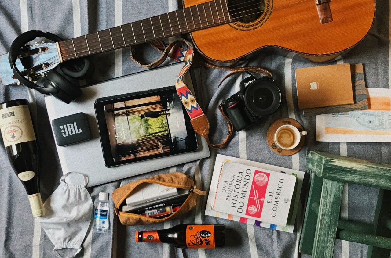 Lockdown essentials by Lela Leme, from Campinas, Brazil,