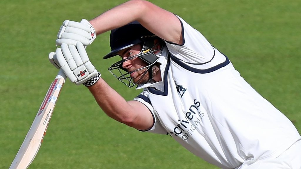 County Championship: Bears build big first-innings lead over Kent in title decider