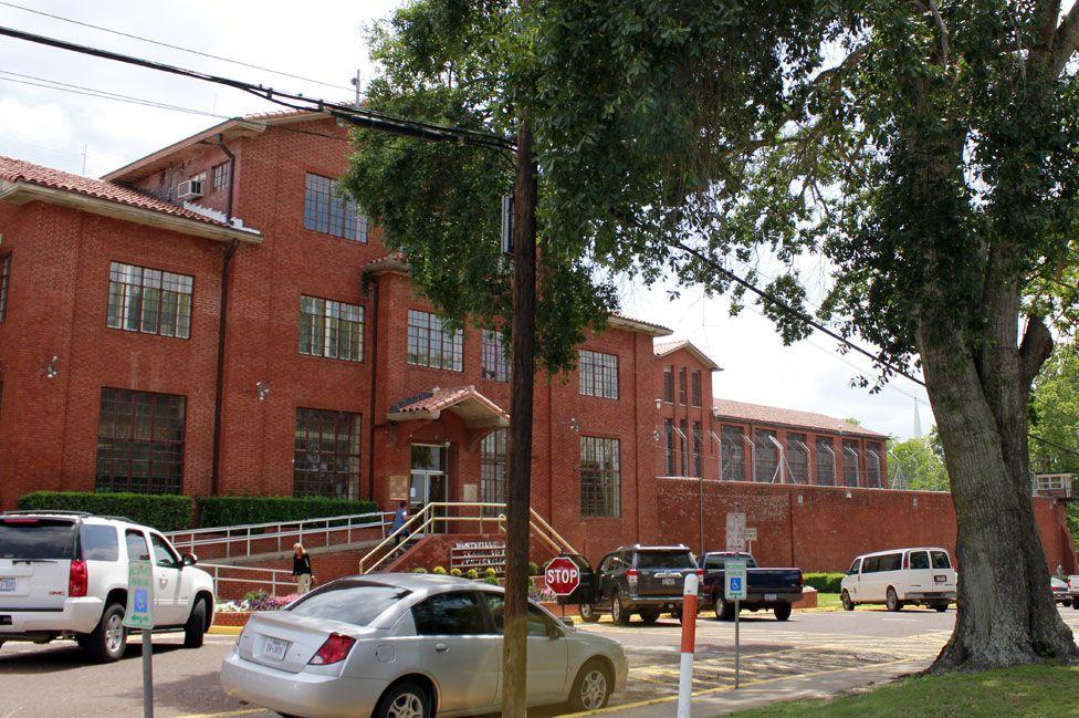 Cámara de la muerte en Huntsville, Texas