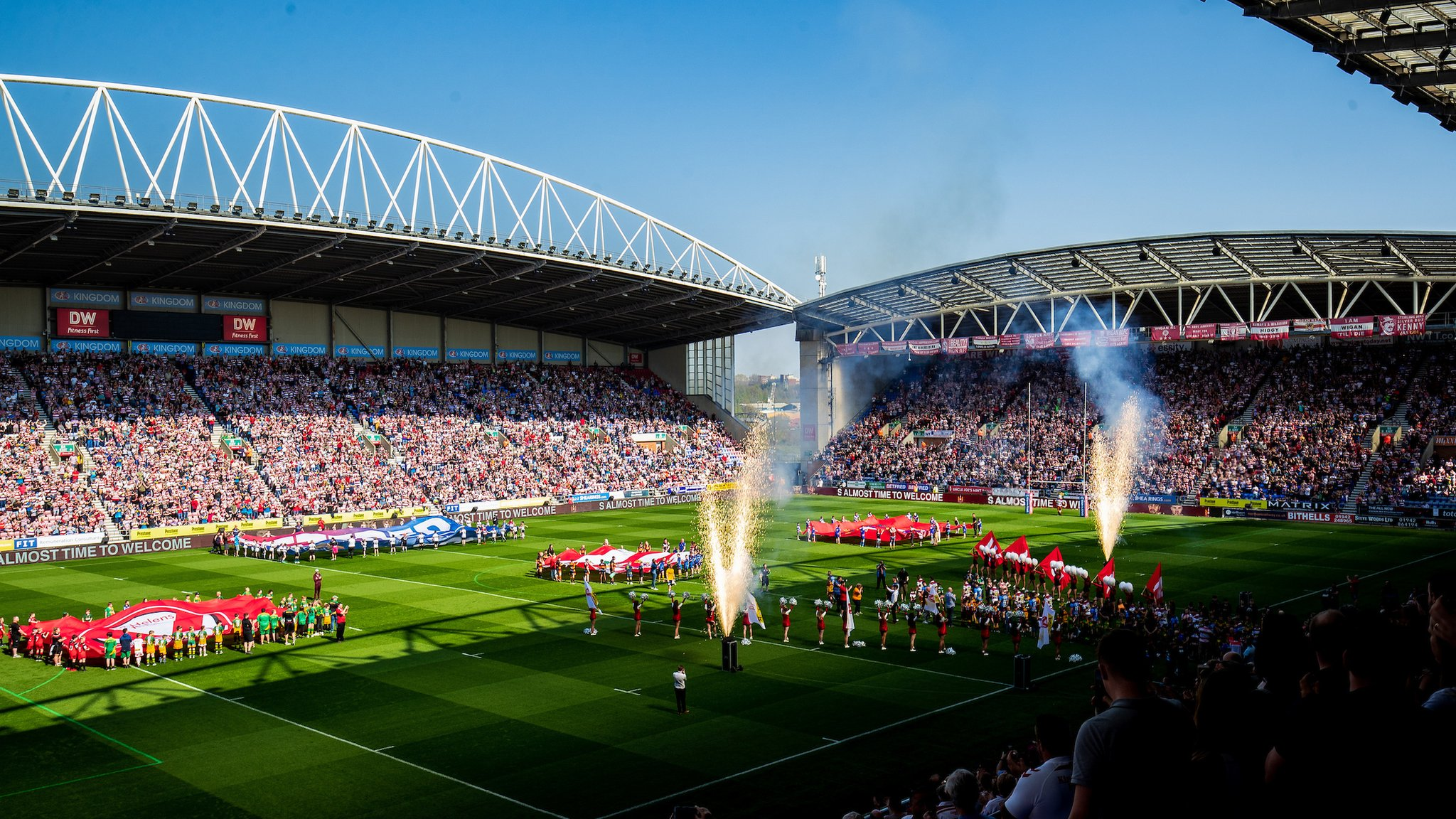 Super League enjoys record round crowds with 79,173 fans across six games