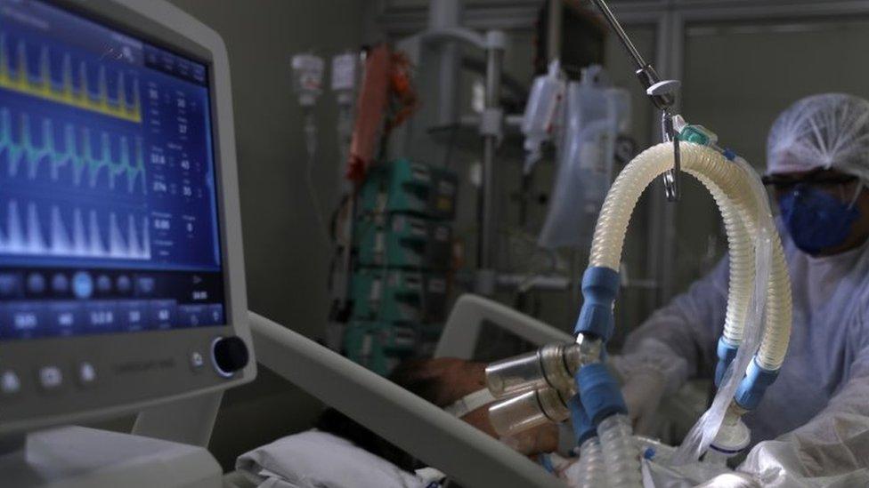 UTI de hospital em São Paulo
