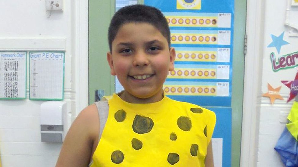 Grenfell Tower inquiry: Girl's tribute to cousin Mehdi El-Wahabi