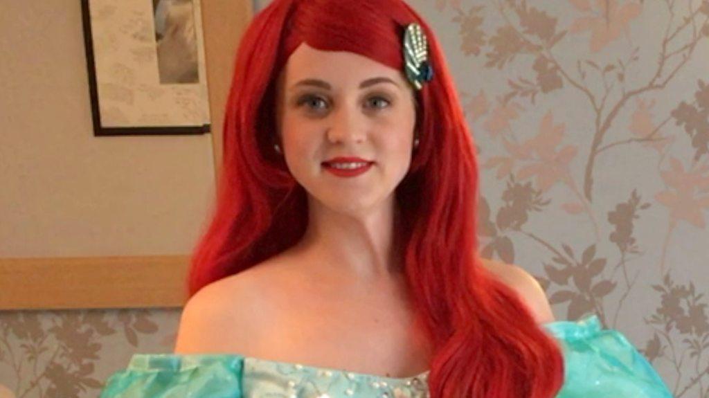 Fairy princess: How I created my dream job