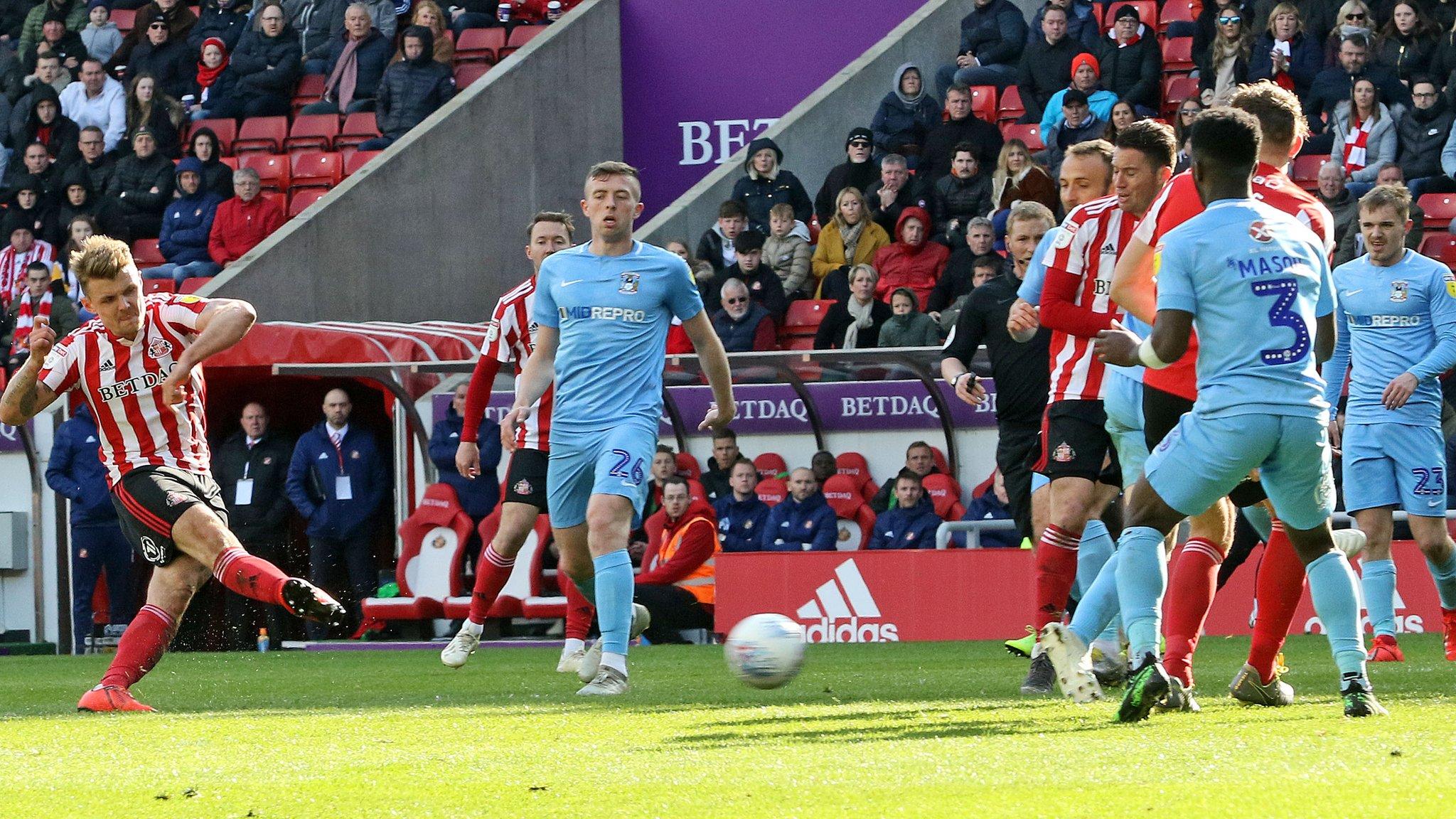 Sunderland 4-5 Coventry City
