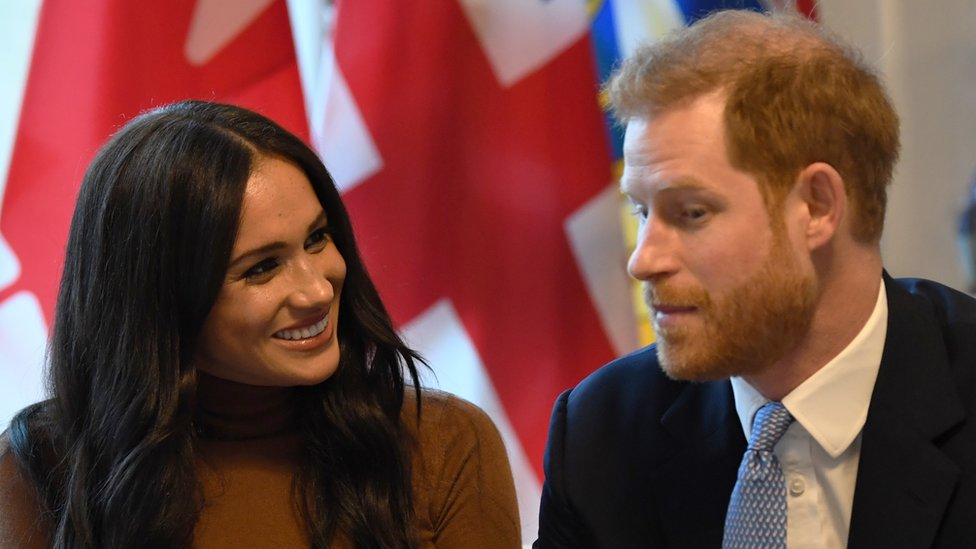Meghan y Harry, duques de Sussex
