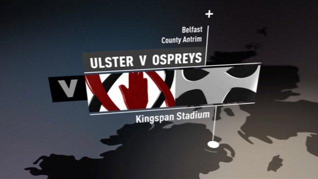 Pro12 Highlights: Ulster 9-7 Ospreys
