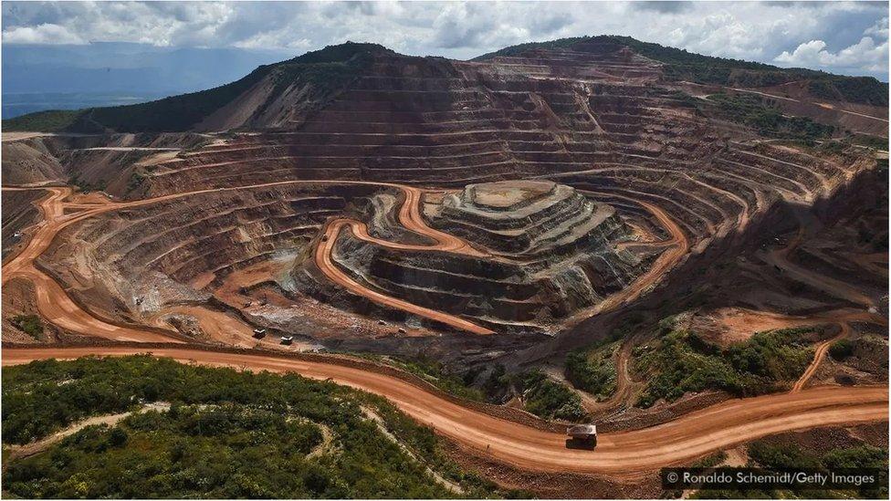 Meksika'daki Los Filos altın madeni