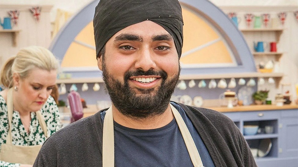Rav Bansal on Great British Bake Off