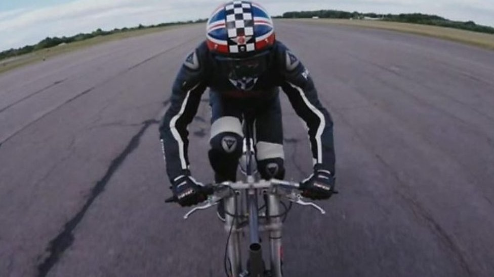 European cycling speed record broken in North Yorkshire