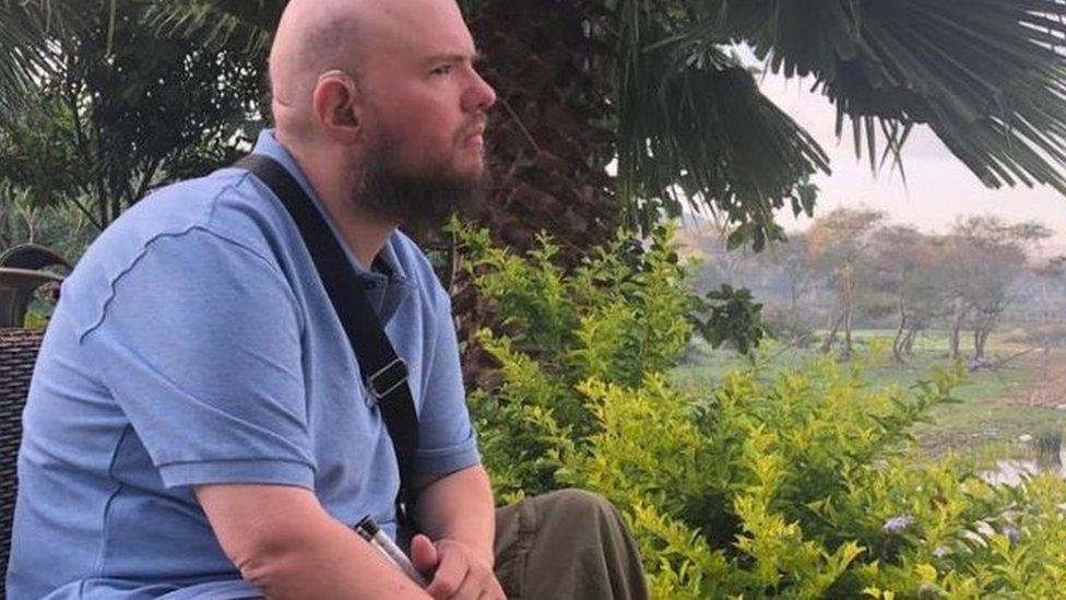 Toni Džajls u Etiopiji