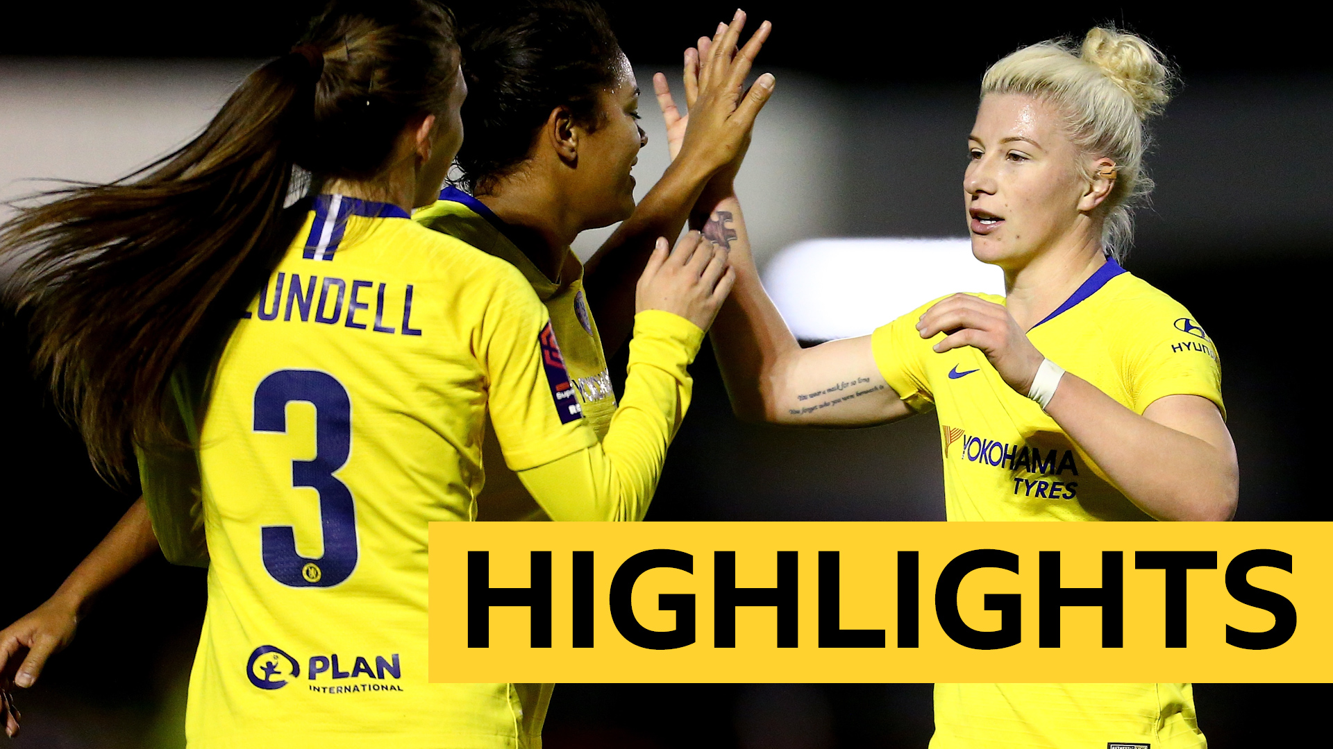 WSL: Brighton 0-4 Chelsea highlights