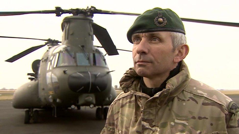 WO Roger Atkinson, Royal Marines